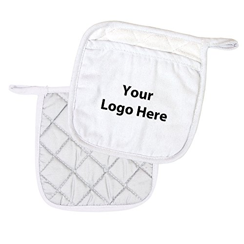 Pot Holder - 100 Quantity - $3.00 Each - PROMOTIONAL PRODUCT / BULK / BRANDED with YOUR LOGO / CUSTOMIZED by Sunrise Identity