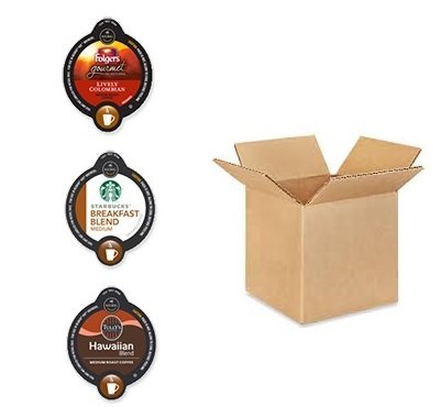 30 Count - VUE Cups MEDIUM ROAST COFFEE Variety Sampler Pack *NO DECAF (10 Different Flavors, 3 VUE Cups Each)