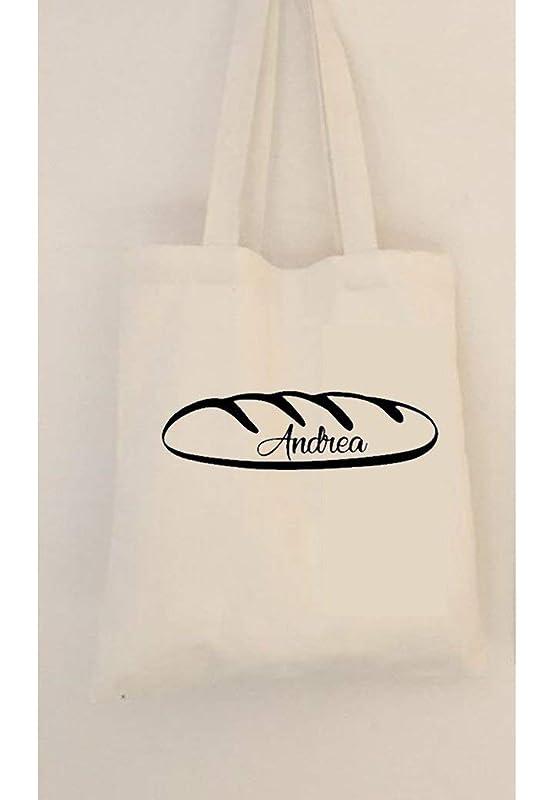 Bolsa de pan personalizada con asas. Algodón ecológico.: Amazon.es ...