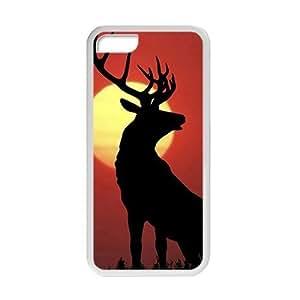 Deer in Fog Morning Phone Case for Iphone 5c