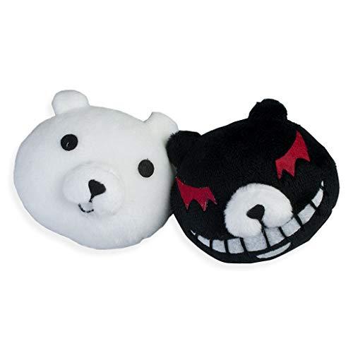 Cosfun Super Danganronpa Enoshima Junko Monokuma Bear Hairpin One Pair mp000830