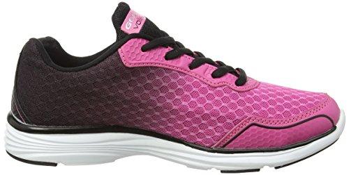 Gola Vallis - Zapatillas de running Mujer Rosa - rosa (rosa/negro)