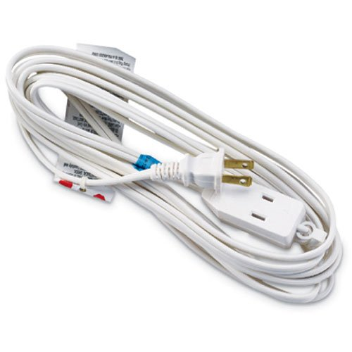 Vinyl Cube Tap - Master Electrician 09413ME 12-Feet Cube Tap Extension Cord, White