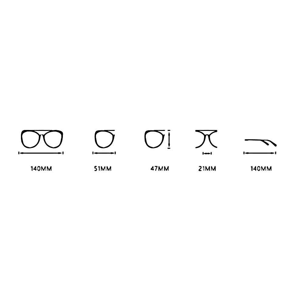 BYCSD Mens Sunglasses Mens Sunglasses Driving Personality 2 Color Eyes Protection Fashion Plate Frame Ultra-Light