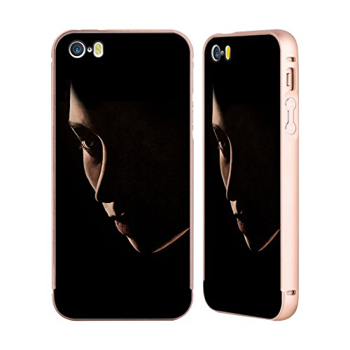 Officiel Graham Bradshaw Seul Illustrations Or Étui Coque Aluminium Bumper Slider pour Apple iPhone 5 / 5s / SE