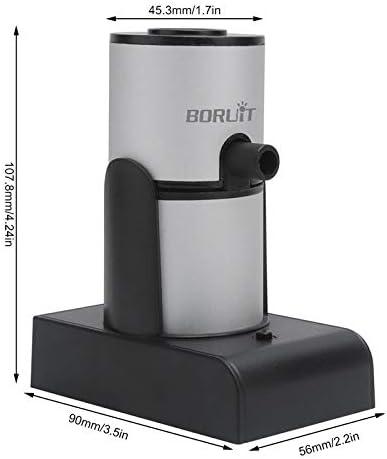 XUXN Pistola para Fumar de Cocina Molecular port/átil Herramienta de Cocina para ahumador de Mano para Barman Chef de Restaurante Occidental generador de Humo fr/ío para Alimentos