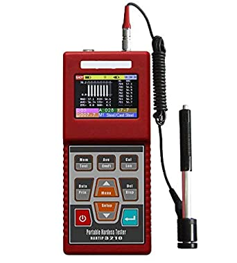 VTSYIQI HARTIP3210 Portable Leeb Hardness Tester Wire Probe Digital Hardness Test Instrument with TFT Color LCD Display: Amazon.com: Industrial & Scientific
