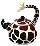 Home-X – Giraffe Tea Kettle, 2.4 Quart Whistling Tea Kettle for Gas Top or Electric Stoves, The Perfect Addition to Any Kitchen