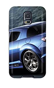 Hot Galaxy S5 Case Cover - Slim Fit Tpu Protector Shock Absorbent Case (mazda Rx 24) 6253460K26786789