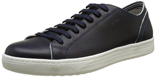 Geox Uomo Rikin, Zapatillas para Hombre Azul (Navy C4002)