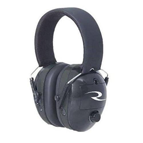 Radians MX0100CS Maximus Earmuff with Extra Set of Plugs NRR 38Db, Black by Radians