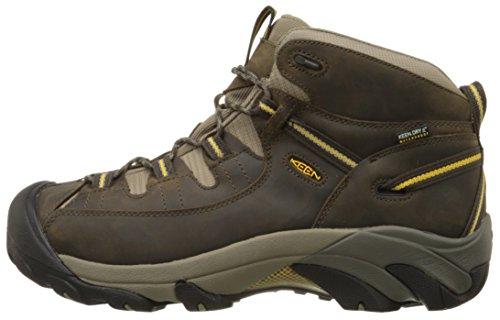 7e218b387d6 KEEN Men's Targhee II Mid Waterproof Hiking Boot,Black - Import It All