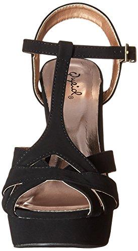 Sandal Gaze Women Platform 445 Dress Black Qupid F5Xq1TWnqz