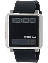 Unisex TRADR02 Transom Waterproof Black Silver Watch