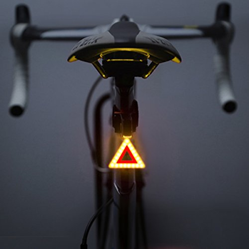 Cheap Bike Taillight, OUTERDO Rear Bike Light USB Rechargeable 70 Lumen LED Bicycle Red Taillight with Different Shapes 5 Modes Super Bright 300mAh Fits on any Road Bikes, Helmets, Cycling Safety Flashlight