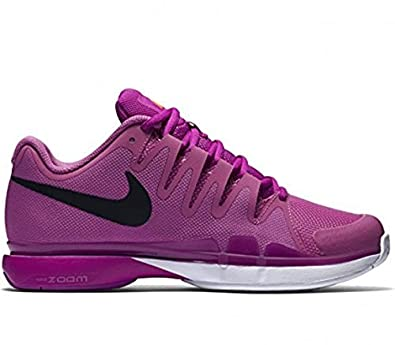 ce110a94c92ac NIKE Womens Zoom Vapor 9.5 Tour Tennis Shoes (5.5, Viola/Hyper Violet/