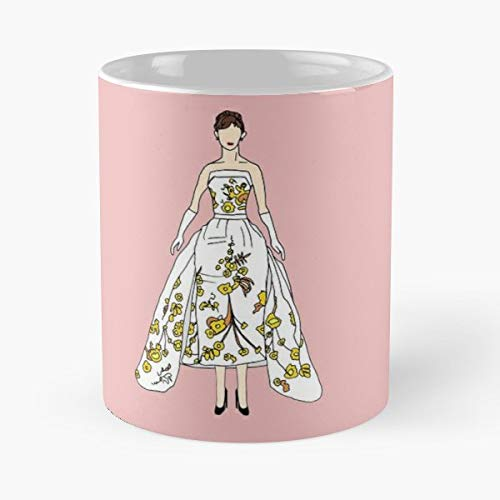 (Gowns Pink Dress Luxu - 11 Oz Coffee Mugs Ceramic )