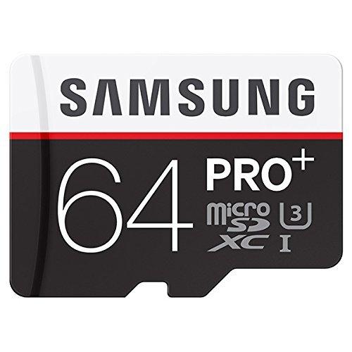 Samsung Pro Plus 64GB MicroSDXC Memory Card --- 95MB/s Read, 90MB/s Write