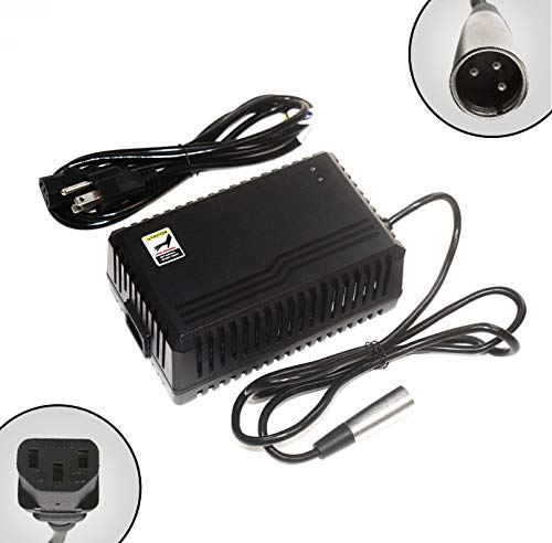 ACI Super Power Battery Charger (3.5A) with XLR Connector for Electric Scooters and Wheelchairs - Fit for Pride Mobility, Jazzy Power Chair, Drive Medical, Golden Technologies, Schwinn, Shoprider ()