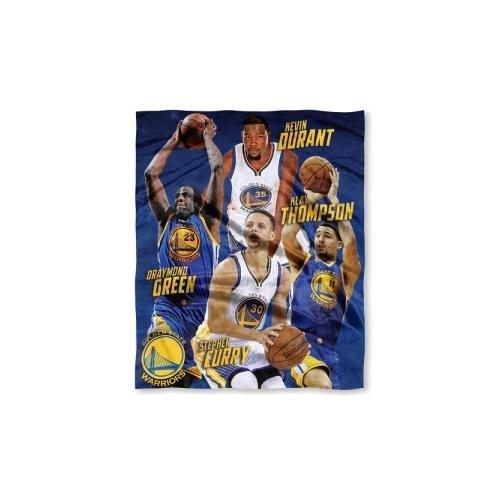 Nba Throw Blanket (Officially Licensed NBA Golden State Warriors HD Player Silk Touch Throw Blanket)
