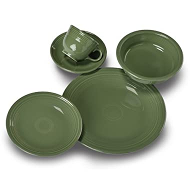 5 Piece Place Setting Color: Sage