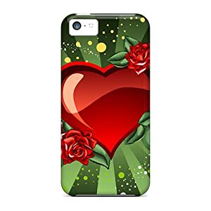 New Snap-on Kallard Skin Case Cover Compatible With Iphone 5c- Holiday Valentine&8217;s Day