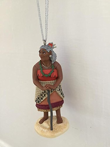 Disney Moana Gramma Tala Grandmother Holiday Christmas Tree Ornament PVC Figure 3.5'' Figurine by HOLIDAY ORNAMENTS (Image #1)