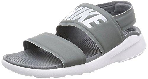 NIKE Womens Tanjun Sandal Cool Grey/Pure Platinum/White 882694-002 (8 B(M) US)