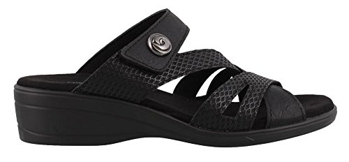 Easy Street 30-8353 Mujeres Feature Sandal Black