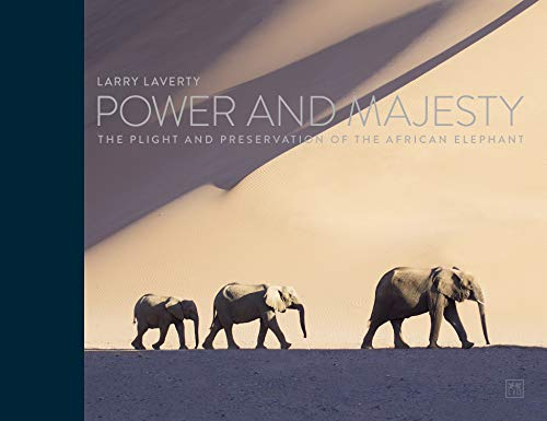 The first book by wildlife photographer and writer Larry Laverty, Power and Majesty, features extraordinary images and informative text that capture the life of African elephants. The book focuses on these majestic animals and features stunning photo...