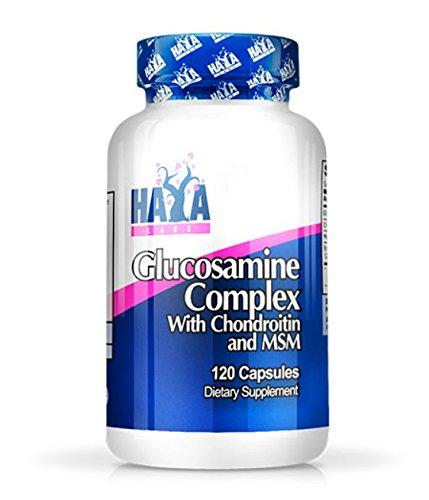 Haya Labs - Complejo de Glucosamina Condroitina y MSM - 120 cápsulas: Amazon.es: Salud y cuidado personal