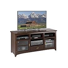 Sonax TPP-490-B West Lake 60-Inch TV/Component Bench in Dark Espresso