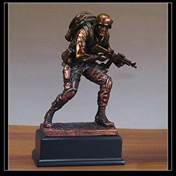 Marine Statue - Figurine