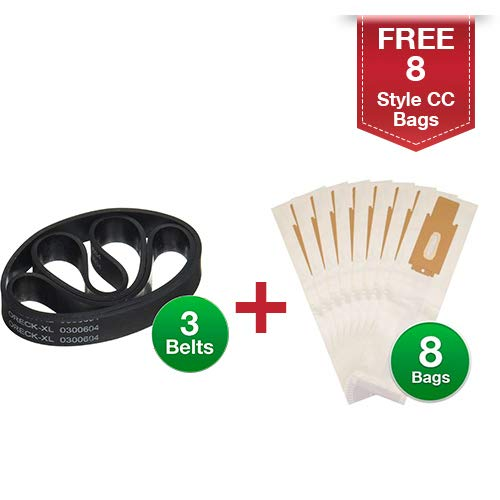upright vacuum cleaner belts 3