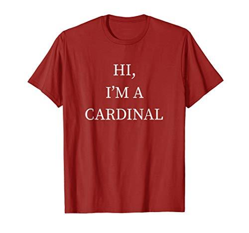 I'm a Cardinal Bird Halloween Costume Shirt Last Minute