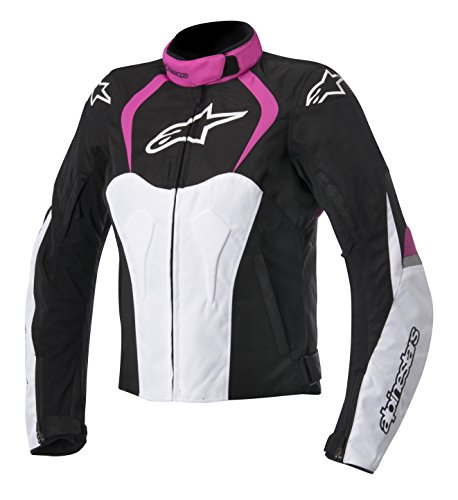 Alpinestars Women's Stella T-Jaws WP Jacket - Small/Black/Pink (Alpinestars Armor Jacket)