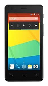 BQ Aquaris E4.5 - Smartphone de 4.5 pulgadas (3G, WiFi 802.11 b/g/n, Bluetooth 4.0 NFC HCE, GPS, 1 GB de RAM, memoria interna de 8 GB), negro - (Reacondicionado Certificado por BQ)