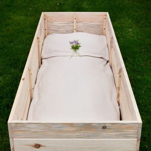 Build-Your-Own Simple Pine Casket Kit - Made from Sustainable Pine From Wisconsin's North Woods - Suitable For Any Cemetery, Natural Burial, or Cremation - Wood Casket - Wood Coffin by Northwoods Casket Company (Image #3)