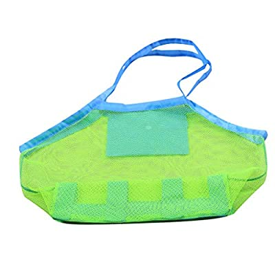 Makkalen Large Mesh Beach Tote Bag for Outdoor Childrens Toy Bag Foldable & Lightweight: Home & Kitchen