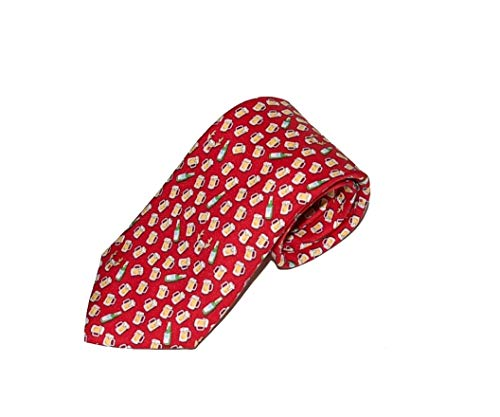 Vineyard Vines Men's Red Nosed Rein-Beer Tie