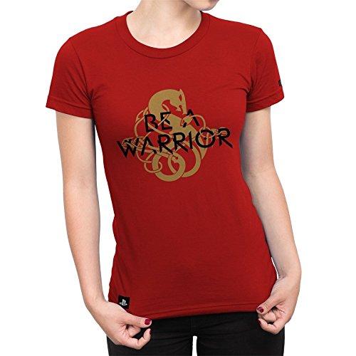 Camiseta Feminina God Of War Be A Warrior - Vermelho - M