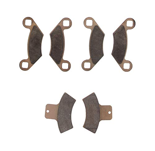 Race Driven Front & Rear Brake Pads for Polaris Sportsman Scrambler Trail Blazer Trail Boss Xpedition Xplorer Worker