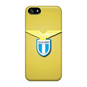 Protective Hard Cell-phone Case For Iphone 5/5s (oYJ7288SbAQ) Support Personal Customs Trendy Ss Lazio Pictures