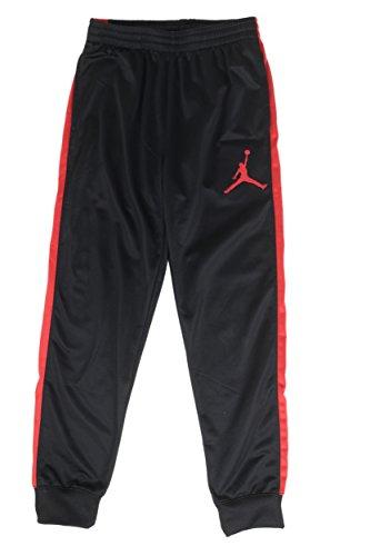 Nike Jordan Big Boys Sport Skinny Jogger Pants (XL(13-15YRS), Black/Red)