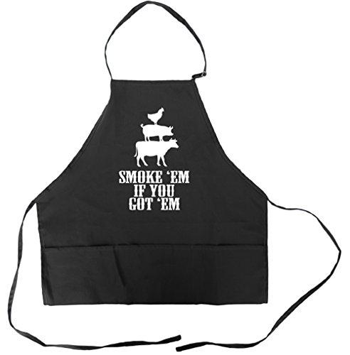 Funny Barbecue Grilling Aprons Pockets product image