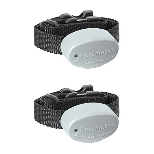 Perimeter Technologies Invisible Fence R21 Compatible Dog Fence Collar 10K (Two Pack)