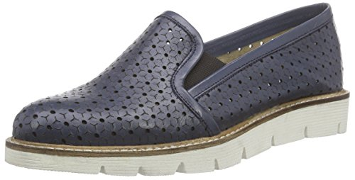 Mujer Mujer Loafer xyxyx Bailarinas Loafer Azul xyxyx Bailarinas Azul xyxyx Loafer 56IqYzYw