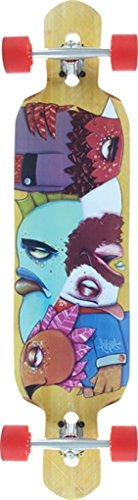 Riviera Skateboards Drop-Thru Word To The Wise Complete Skateboard - 9.5