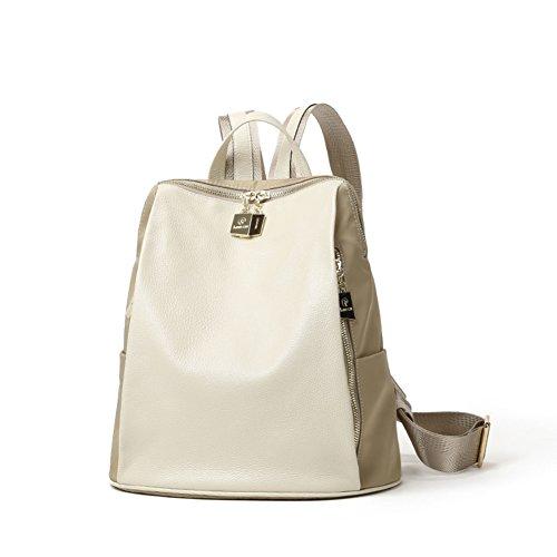 Backpack Shoulder Soft Bag a Wild Women Fashion Leather BqnXPw