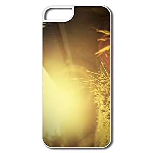 IPhone 5 Cases, Sun Light Case For IPhone 5S - White Hard Plastic